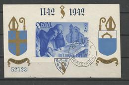 Blok 21 Gestempeld - Blocs 1924-1960