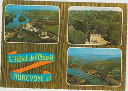 Eure : Gare Gaillon AUBEVOYE :   Hotel  Restaurant  1971 - Aubevoye