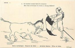 Themes Div-ref FF449-illustrateur -serie Artistique -satirique -caricature Guillaume 2 Le Kaiser -le Zouave - - Weltkrieg 1914-18