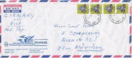 37800. Carta Aerea NAIROBI (Kenya) 1978. MINERAL Stamp. GALENA - Kenya (1963-...)