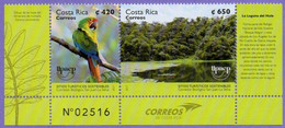 Costa Rica 2017.  Birds. Great Green Macaw. Tourism.  Upaep. Fauna.  MNH - Costa Rica
