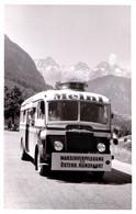 ADVERTISING BUS : MEINL / MARSCHVERPFLEGUNG FÜR ÖSTERR. RUNDFAHRT - CARTE VRAIE PHOTO / REAL PHOTO ~ 1950 - RRR ! (af555 - Unclassified