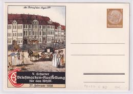 DR., Privatganzsache PP 122-C80,  Ungebraucht - Postwaardestukken