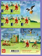Christmas Island 2017. Christmas. Christmas Golf.  Booklet. MNH - Christmas Island