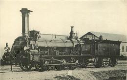Thème Train Locomotive De L'Orléans Machine 771 Système Polonceau CP Ed. H.M.P. N°1414 Vapeur Steam - Treinen