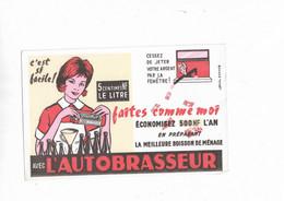 Buvard Ancien L'Autobrasseur C'est Si Facile - Alimentare