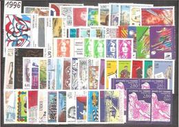 ANNEE COMLETE  1996 Neuve + BC 2992+3031. TTB. - 1990-1999