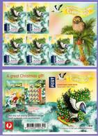 Christmas Island 2017. Christmas. Birds.  Booklet. MNH - Christmas Island