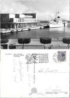 Palermo. Stazione Marittima. M/n Campania Felix. Viaggiata 1958 - Italy