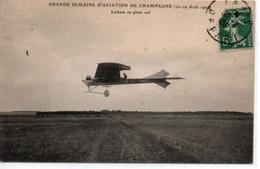 Latham En Plein Vol-Grande Semaine D'aviation De Champagne (22-29 Aout 1909) - Airmen, Fliers