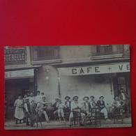 CARTE PHOTO BEZIERS CAFE - Beziers