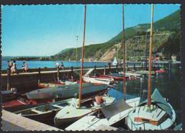 ITALIA Maderno Brescia Lago Di Garda Porto Barche Lake Port Boats Lac De Garde Port Bateaux Italy CAR00139 - Italy