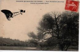 Saulier Sur Monoplan Blériot-Grande Quinzaine De Paris- Port Aviation (juvisy) - Airmen, Fliers
