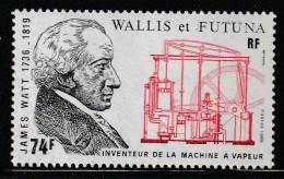 WALLIS Et FUTUNA - N°347 ** (1986)  James Watt - Neufs