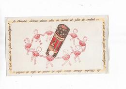 Buvard Ancien Chicorée Leroux (ronde) - Carte Assorbenti
