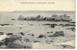 Carte Postale - CPA Dpt N°29 FINISTERE - Non Ecrite - LOCQUIREC - La Roche Tombée à Marée Haute. - Locquirec