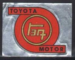 Stikers Toyota Motor Japan Automobiles Car Automobile  FAS00103 - Vignettes Autocollantes