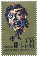 Jacques Brel Yvert & Tellier N°2653 - Neufs