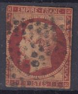 FRANCE : LE RARE EMPIRE 1F CARMIN N° 18 OBLITERE - A VOIR - COTE 3400 € - 1852 Louis-Napoléon