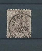 N° 25 OBLITERE LIEGE - 1866-1867 Petit Lion