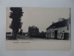 """Ghislenghien """"ATH"""" - Avenue De La Gare - 2 Scans - Ath"""