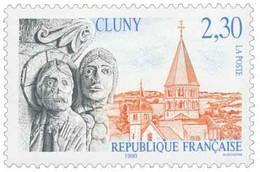 Abbaye De Cluny Yvert & Tellier N°2657 - Neufs