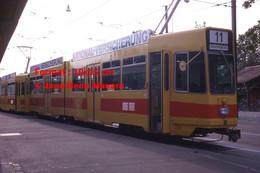 ReproductionPhotographie D'unTramway BLT11 Aeschenplatz à Bâle En Suisse En 1978 - Reproductions