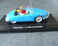 Voiture De Spirou Et Fantasio - Turbot-rhino 1 - La Corne De Rhinocéros - 1/43° - Cars & 4-wheels