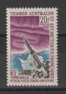 TAAF 1967 Tir De Fusée Sonde 23 1 Val ** MNH - Unused Stamps