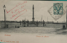 Catania - Piazza Del Martiri - 1902 - Catania