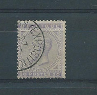 N° 41 OBLITERE BRUXELLES EXPOSITION - 1883 Leopold II