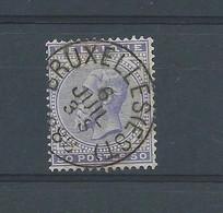 N° 41 OBLITERE BRUXELLES EST - 1883 Leopold II