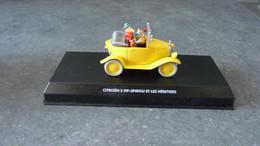 Voiture De Spirou Et Fantasio - Citroën  5 HP - Spirou Et Les Héritiers - 1/43° - Cars & 4-wheels