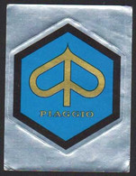 Stikers Piaggio Pontedera (PI) Motociclo Automobile Italia Automobiles Car Moped Cyclomoteur FAS00106 - Vignettes Autocollantes