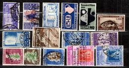 Italie Belle Petite Collection De Bonnes Valeurs Oblitérées 1948/1952. B/TB. A Saisir! - 1946-60: Used