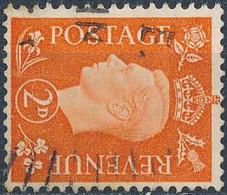SG 465a, Watermark Sideways - Used Stamps