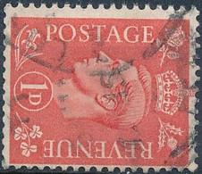 SG 486a, Watermark Sideways - Used Stamps