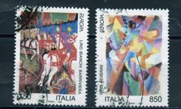 Italie - Italy - Italien 1993 Y&T N°2011 à 2012 - Michel N°2279 à 2280 (o) - EUROPA - 1991-00: Usati