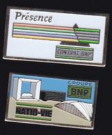 67081-Lot De 2 Pin's.Banque.BNP. - Banks