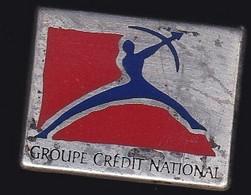 67101-Pin's. Crédit National - BFCE .Banque.signé Arcapea Paris 1992 - Banks
