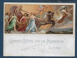 Italie - Grand Hôtel De La Minerve  ROME - Visiting Cards