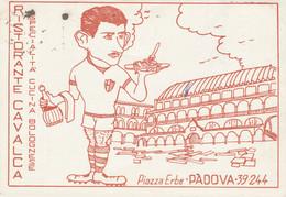 Padova Cartolina Pubblicitaria Ristorante Cavalca Ritrovo Calcio Padova FG P564 - Padova (Padua)
