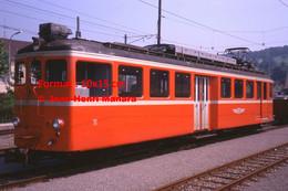 ReproductionPhotographie D'une Vue D'un Train BDB Bremgarten En Suisse En 1978 - Reproductions
