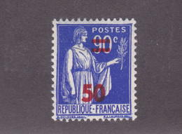 TIMBRE FRANCE N° 482 NEUF ** - 1932-39 Paz
