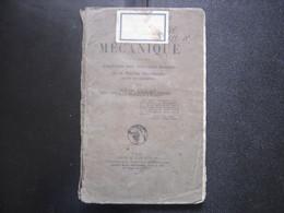 1925 Cours De Mécanique Aux Candidats Des Brevets MARINE MARCHANDE Alfred Lucas - Boats