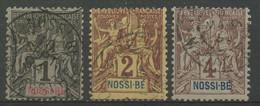 Nossi-bé (1894) N 27 à 30 (o) - Used Stamps
