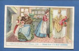 Lille BELLE JARDINIERE BERIOT CHROMO 15cmx9,3cm Saint Nicolas  Grand Mère  Maison Enfants Jouets Poupée - Cromos