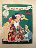 Couverture De Cinémonde Début XXème - Disney Mickey Blanche Neige - Publicité Velouty De Dixor - Posters