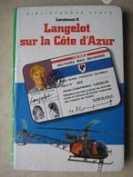 Langelot Sur La Cote D'azur Lieutenant X   +++TBE+++ LIVRAISON GRATUITE - Books, Magazines, Comics