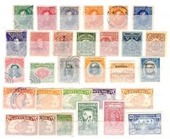 Costa Rica Belle Collection D'anciens Neufs Et Oblitérés 1883/1935. Bonnes Valeurs. B/TB. A Saisir! - Costa Rica